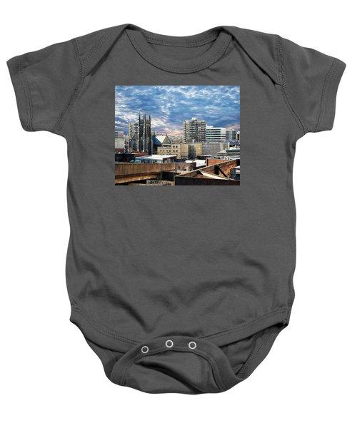 Stamford Cityscape Baby Onesie