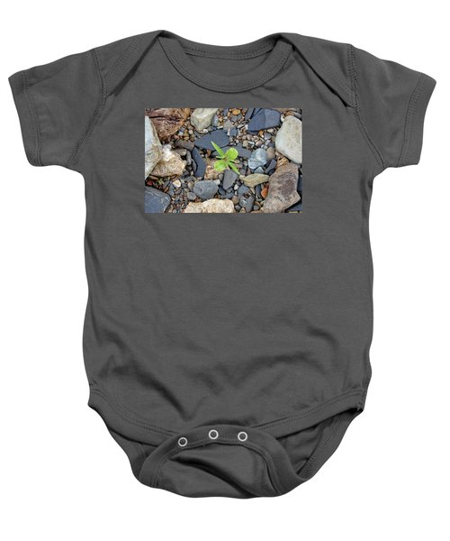 Stand Out From The Crowd Baby Onesie