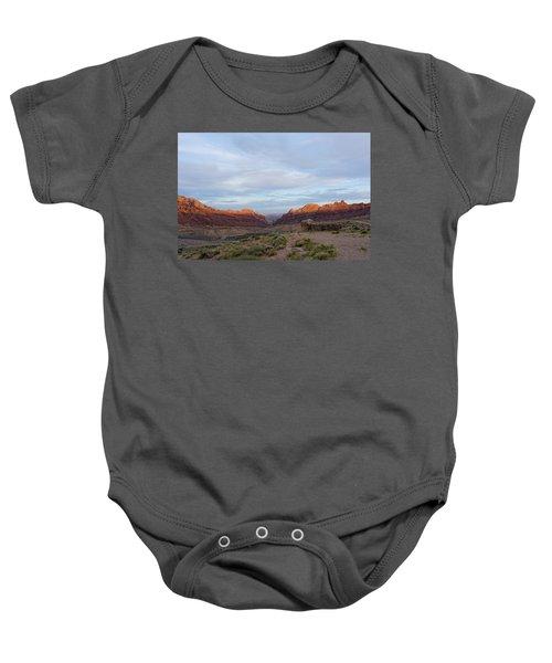 The Castles Near Green River Utah Baby Onesie