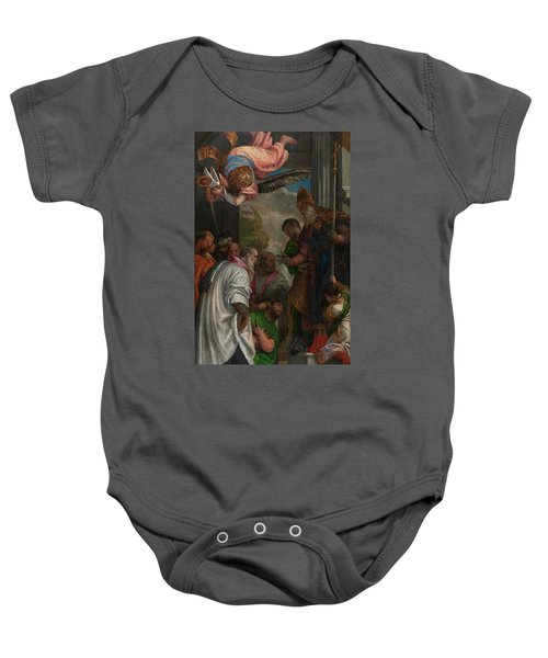 The Consecration Of Saint Nicholas Baby Onesie