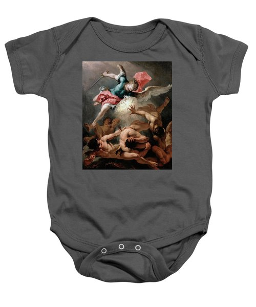 The Fall Of The Rebel Angels Baby Onesie