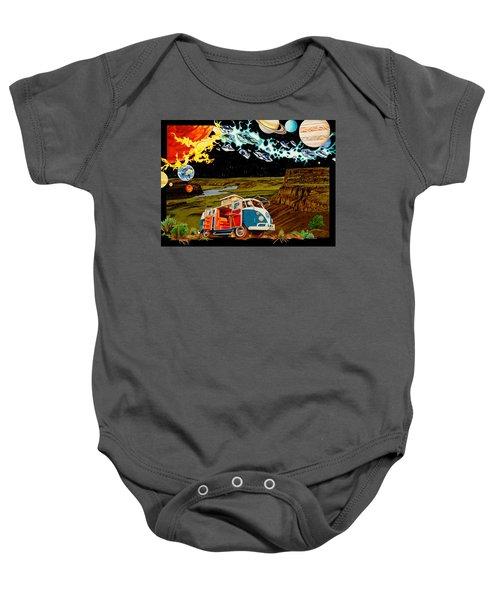 The Gorge One Sweet World Baby Onesie