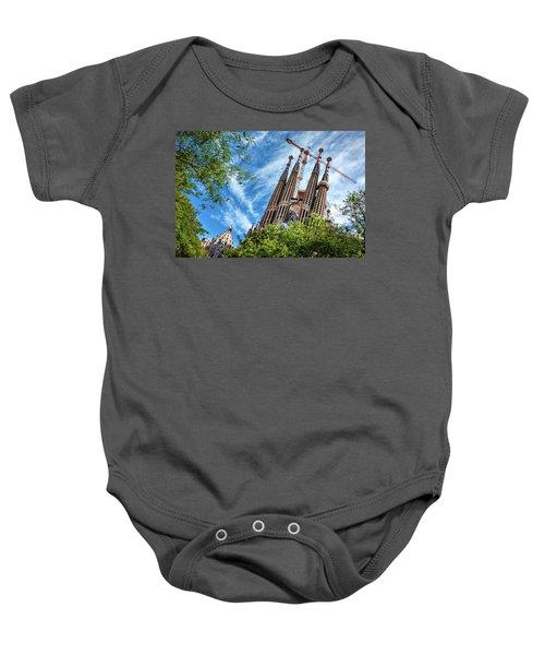 The Sagrada Familia Baby Onesie