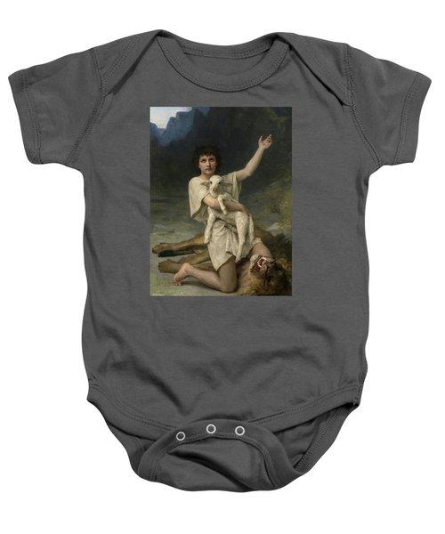 The Shepherd David Triumphant Baby Onesie