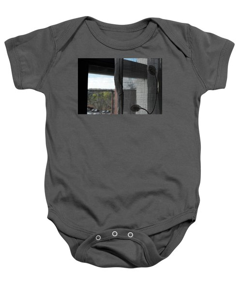 The View From The Window Baby Onesie
