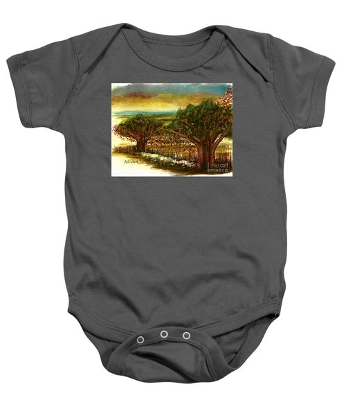 The Voices Of The Wind Baby Onesie