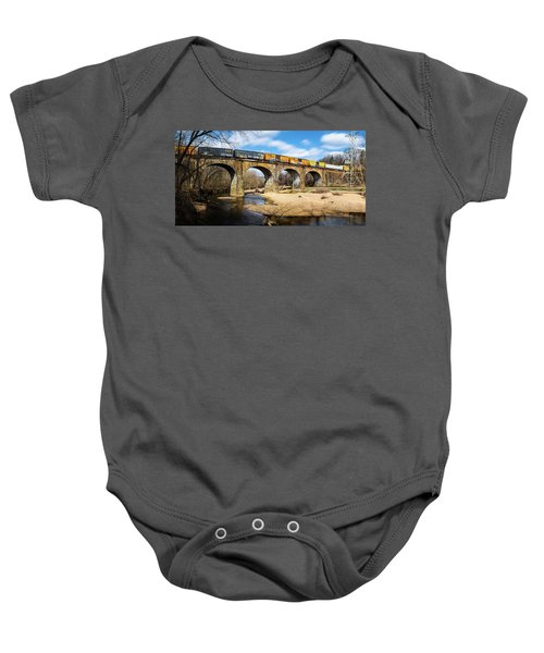 Thomas Viaduct Panoramic Baby Onesie