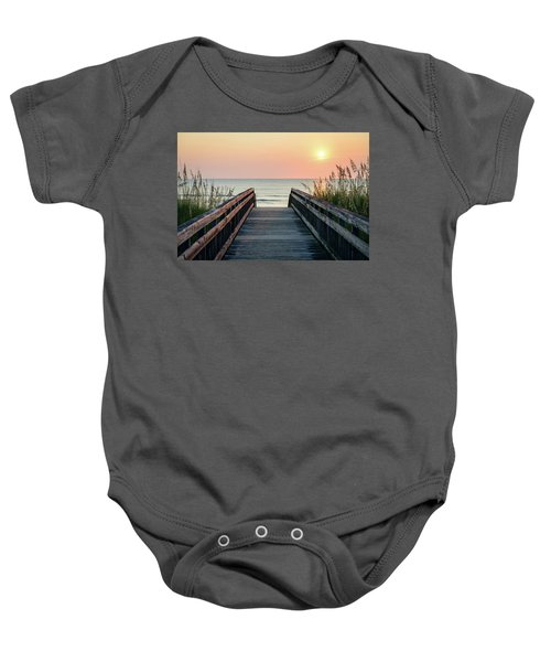 Beyond The Sea Baby Onesie