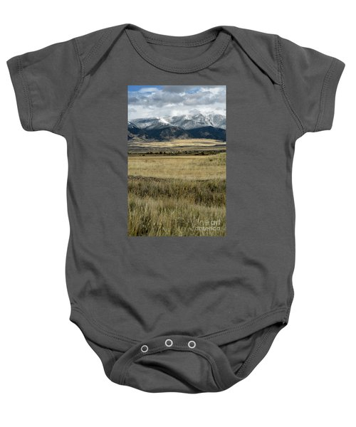 Tobacco Root Mountains Baby Onesie