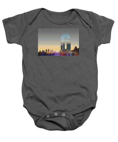 Toronto Skyline - The Six Baby Onesie