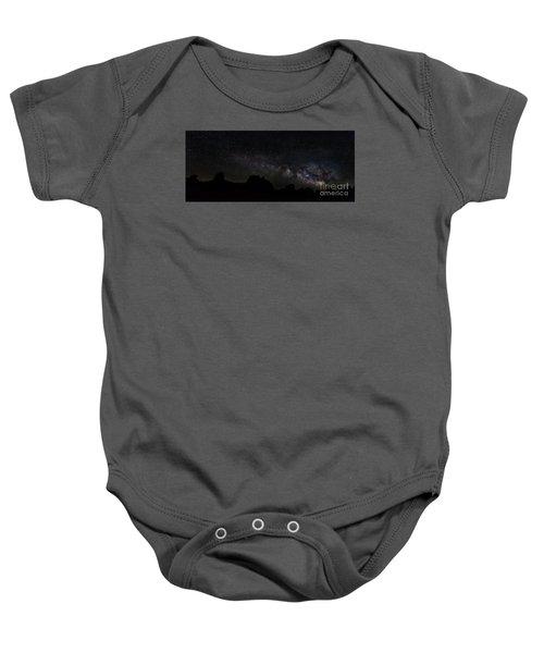 Trona Pinnacles Milky Way Baby Onesie
