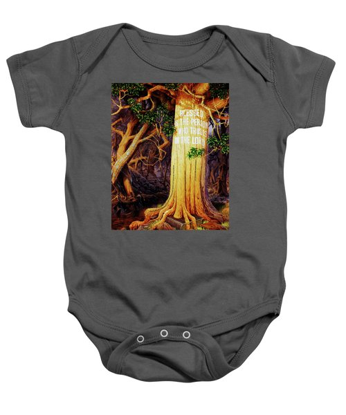 Trust In The Lord Baby Onesie