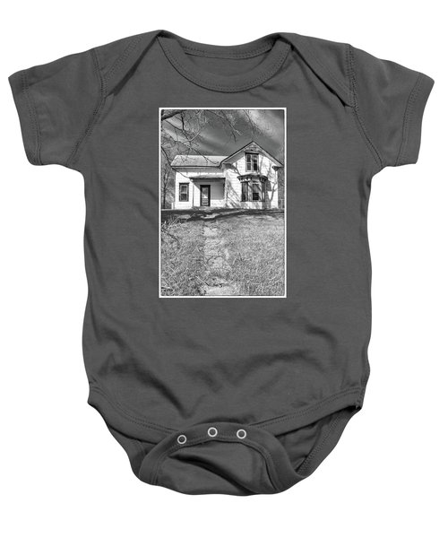 Visiting The Old Homestead Baby Onesie