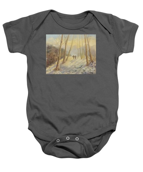 Walking In Sunshine Baby Onesie