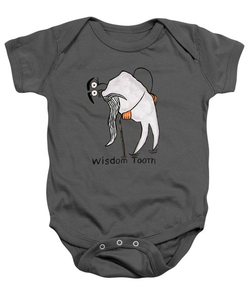 Wisdom Tooth Baby Onesie by Anthony Falbo