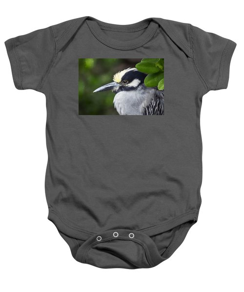 Yellow-crowned Night Heron Baby Onesie
