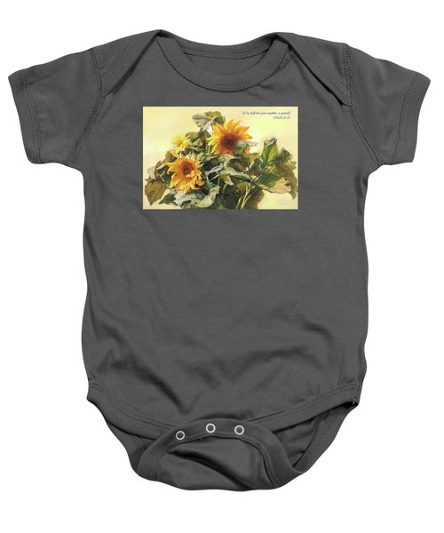 You Shall Love Your Neighbor As Yourself  Baby Onesie
