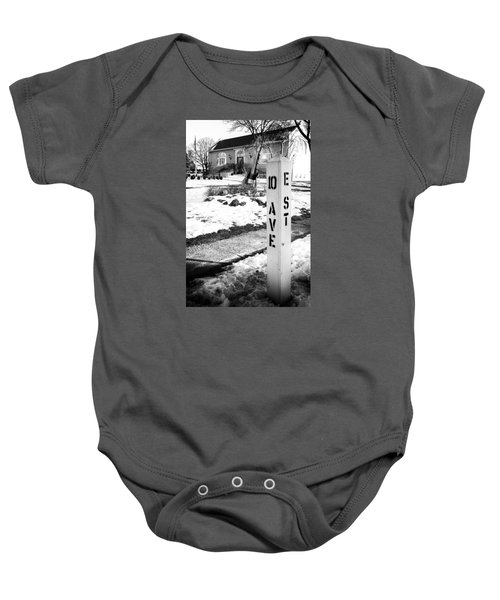 10 Ave And E St Belmar New Jersey Baby Onesie
