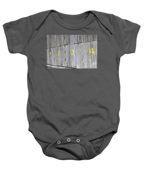 Baby Onesie featuring the photograph 1234 by Stephen Mitchell