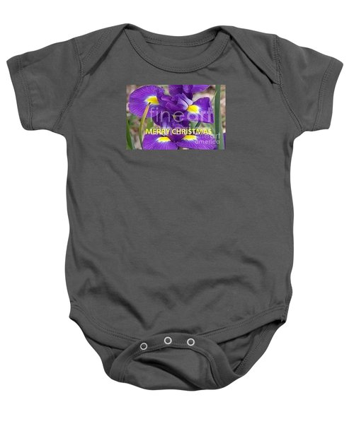 Baby Onesie featuring the photograph Christmas Card by Rod Ismay