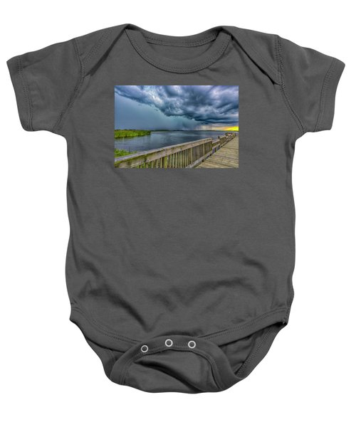 Storm Watch Baby Onesie