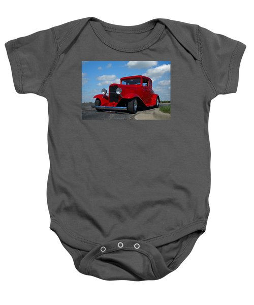 1930 Chevrolet Coupe Hot Rod Baby Onesie