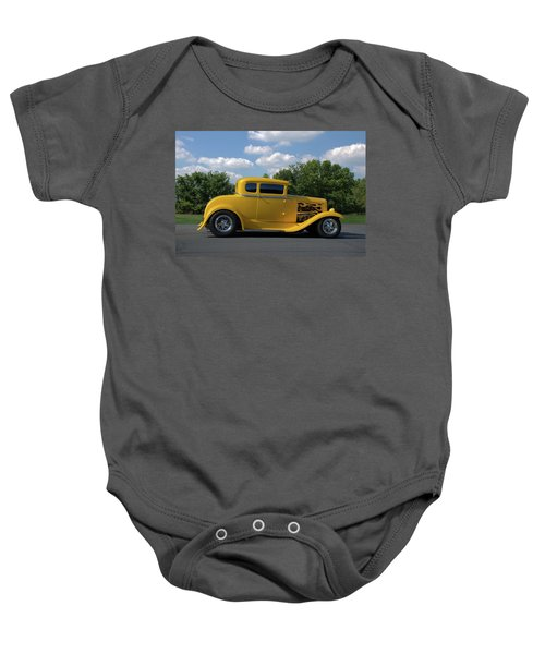 1931 Ford Coupe Hot Rod Baby Onesie
