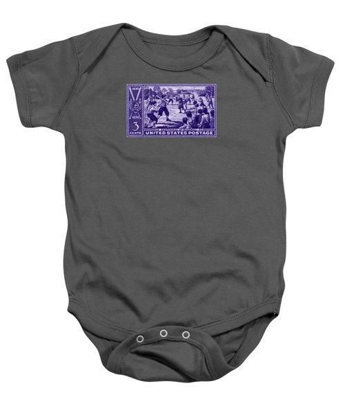 1939 Baseball Centennial Baby Onesie