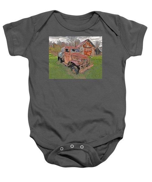 1941 Dodge Truck #2 Baby Onesie