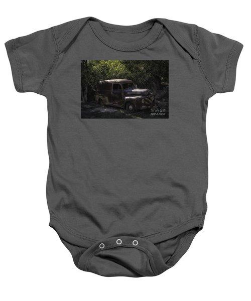 1950 Ford Panel Truck  Baby Onesie