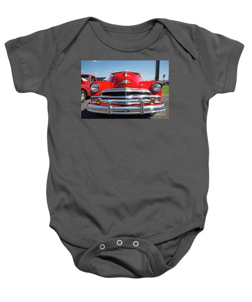 1950 Plymouth Automobile Baby Onesie