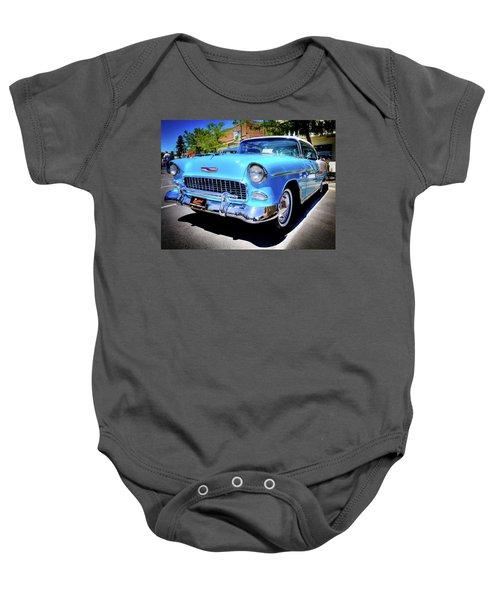 1955 Chevy Baby Blue Baby Onesie