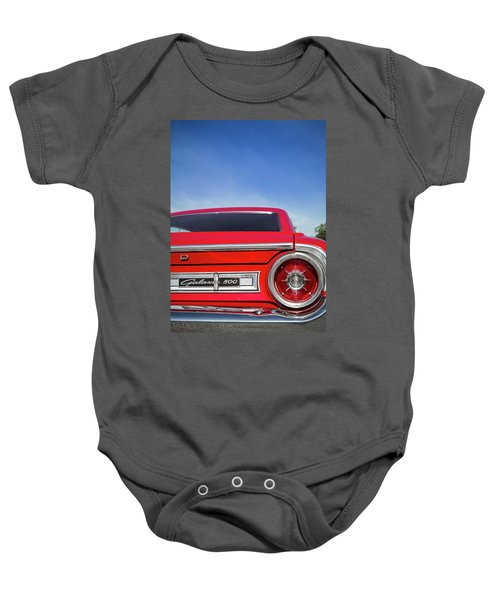 1964 Ford Galaxie 500 Taillight And Emblem Baby Onesie