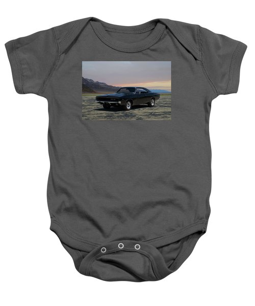 1968 Dodge Charger Rt 440 Baby Onesie