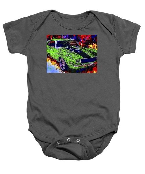 1969 Camaro Z28 Baby Onesie