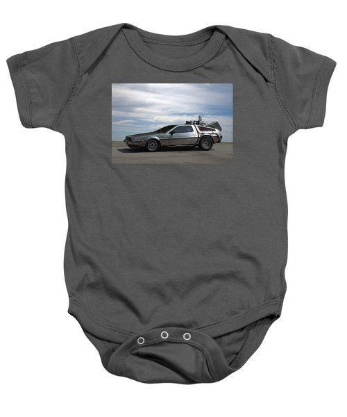 1981 Delorean Dmc12 Baby Onesie