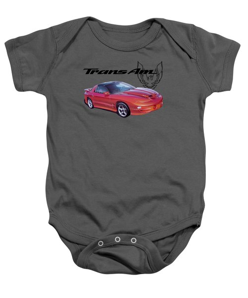 1999 Trans Am Baby Onesie by Paul Kuras