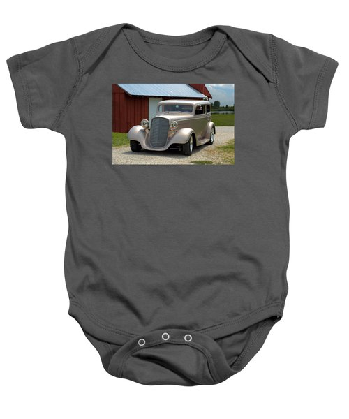 1934 Chevrolet Sedan Hot Rod Baby Onesie