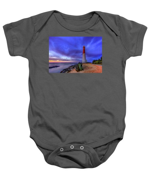 Barnegat Lighthouse Baby Onesie