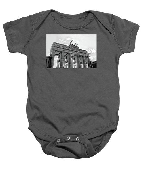 Brandenburg Gate - Berlin Baby Onesie