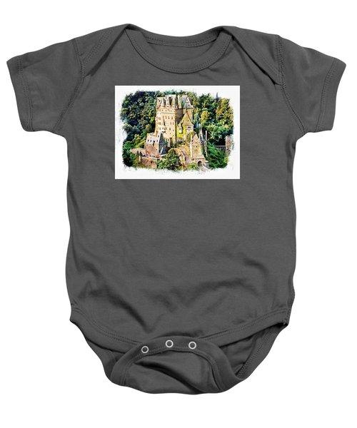Burg Eltz - Moselle Baby Onesie