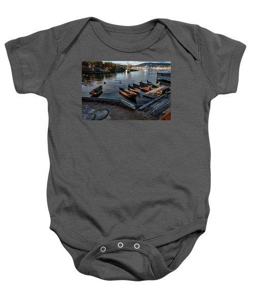 Bygdoy Harbor Baby Onesie