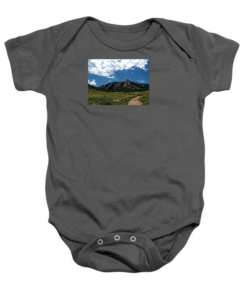 Colorado Landscape Baby Onesie