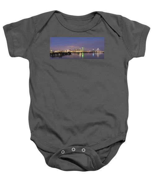 Dallas Skyline Twilight Baby Onesie