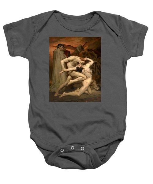 Dante And Virgil In Hell  Baby Onesie