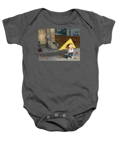 Don't Let Go Baby Onesie