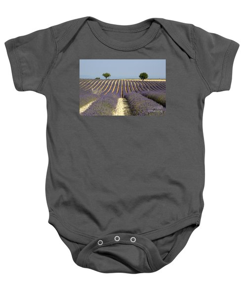 Field Of Lavender. Provence Baby Onesie