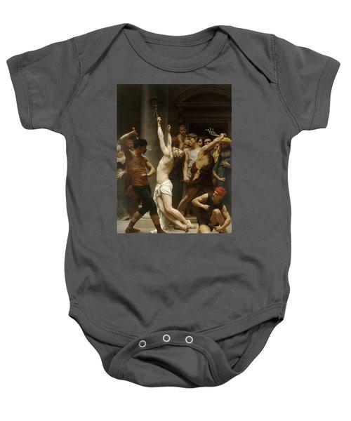 Flagellation Of Christ Baby Onesie