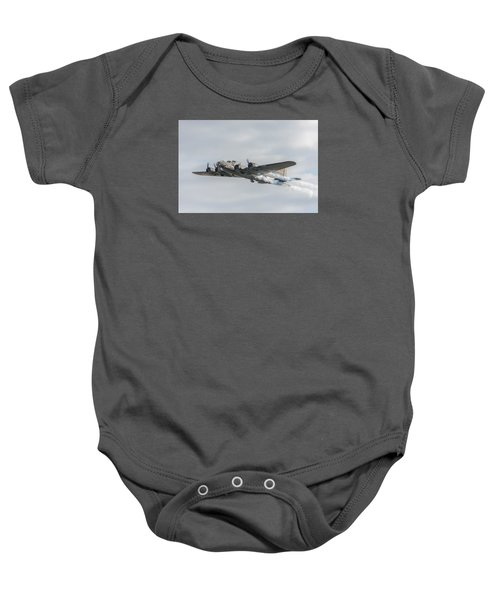 Flying Fortress Sally B Baby Onesie by Gary Eason
