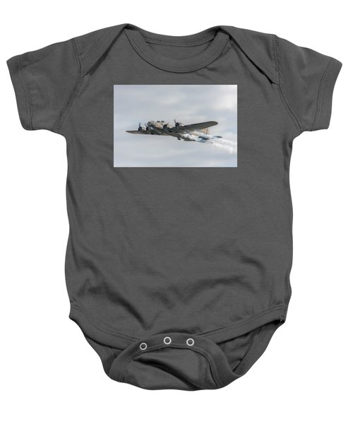 Flying Fortress Sally B Baby Onesie